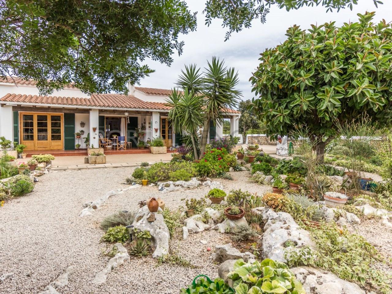 Country house for sale in Cala Galdana,Menorca-Garden