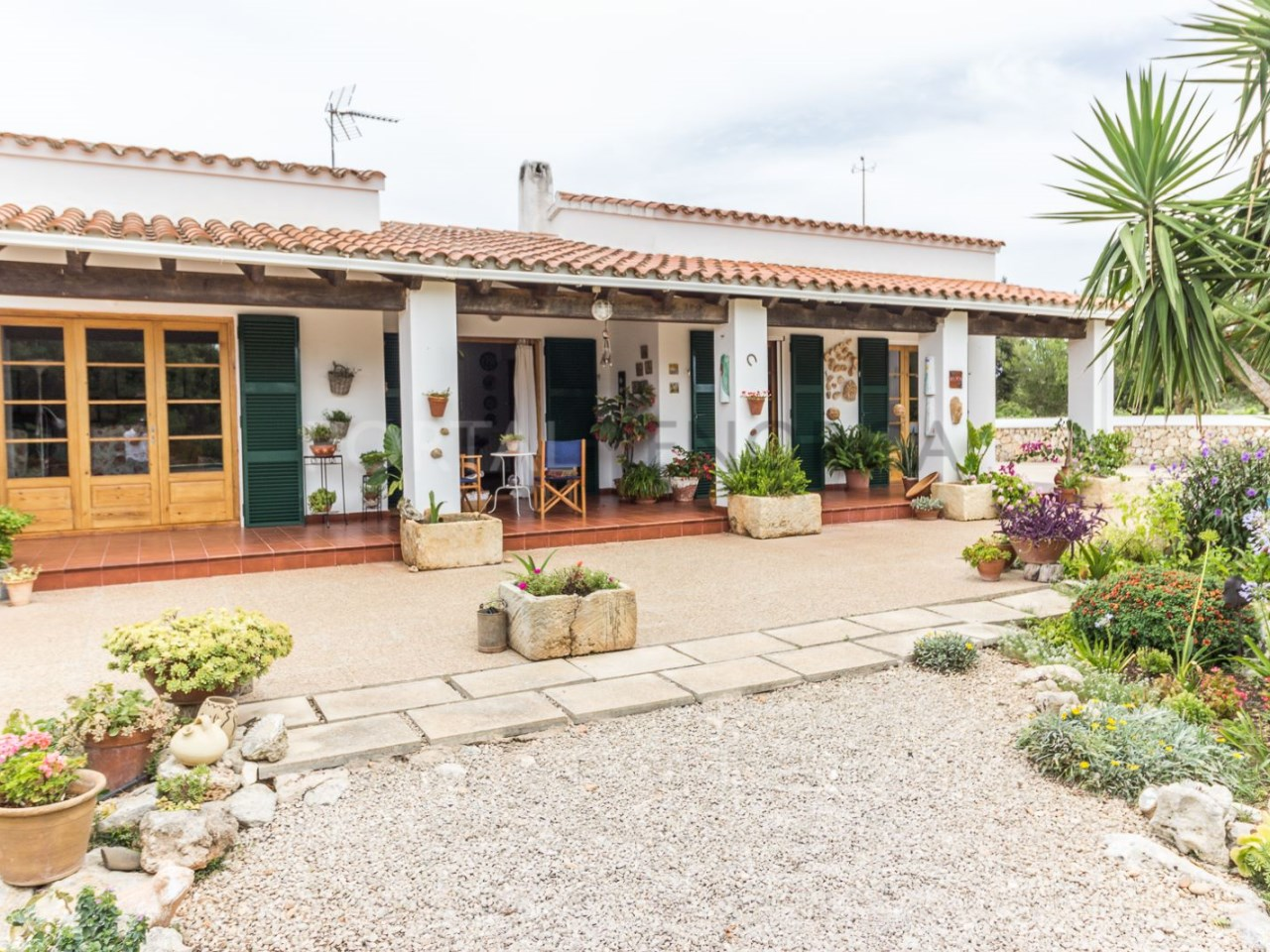 Country house for sale in Cala Galdana,Menorca-facade