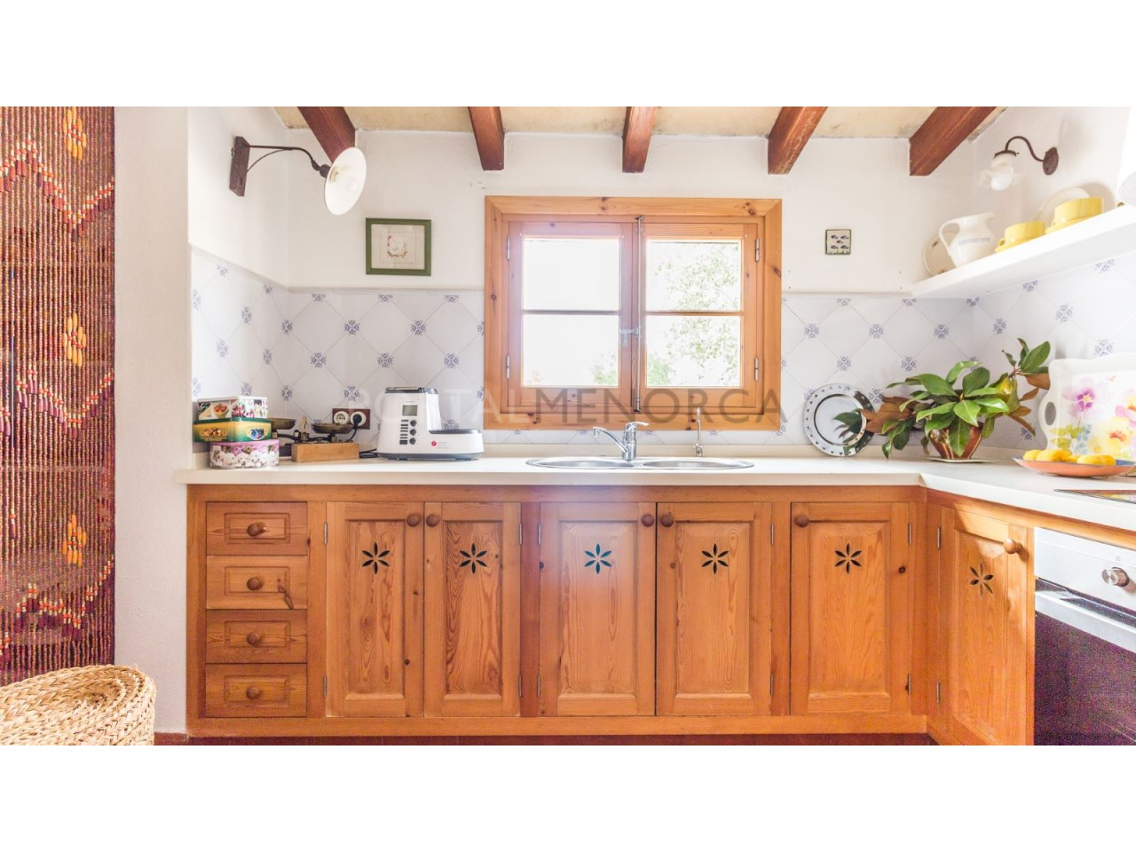 Country house for sale in Cala Galdana,Menorca-Kitchen