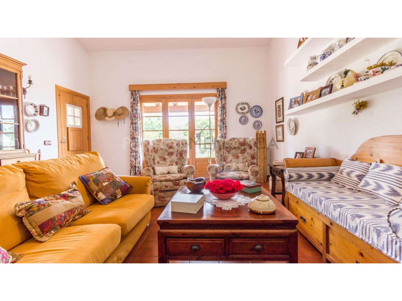 Country house for sale in Cala Galdana,Menorca-Living room