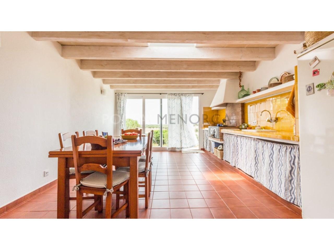 Country house for sale in Cala Galdana,Menorca-Barbecue
