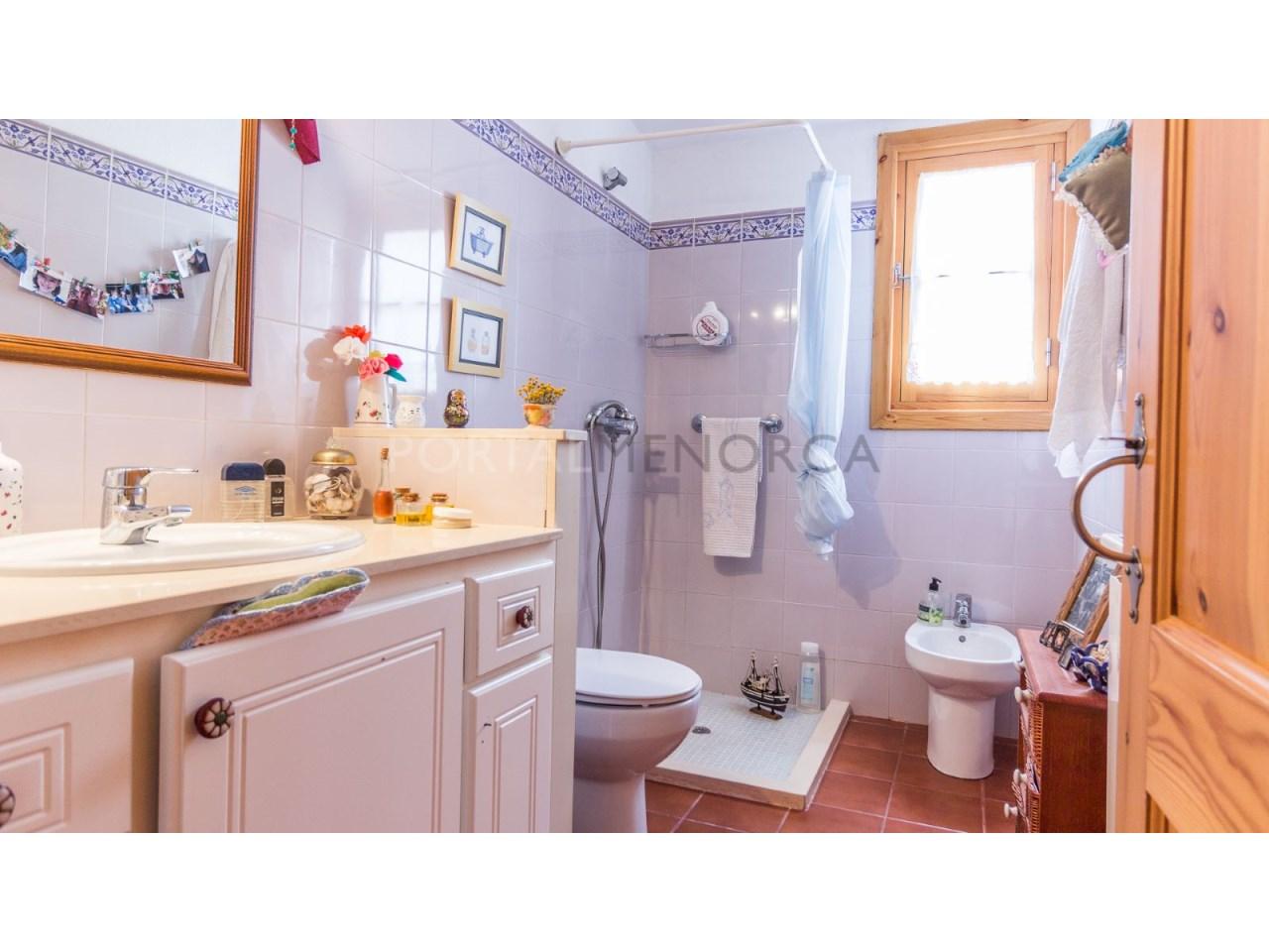 Country house for sale in Cala Galdana,Menorca-Bathroom