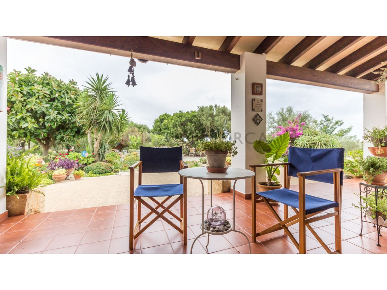 Country house for sale in Cala Galdana,Menorca-Terrasse