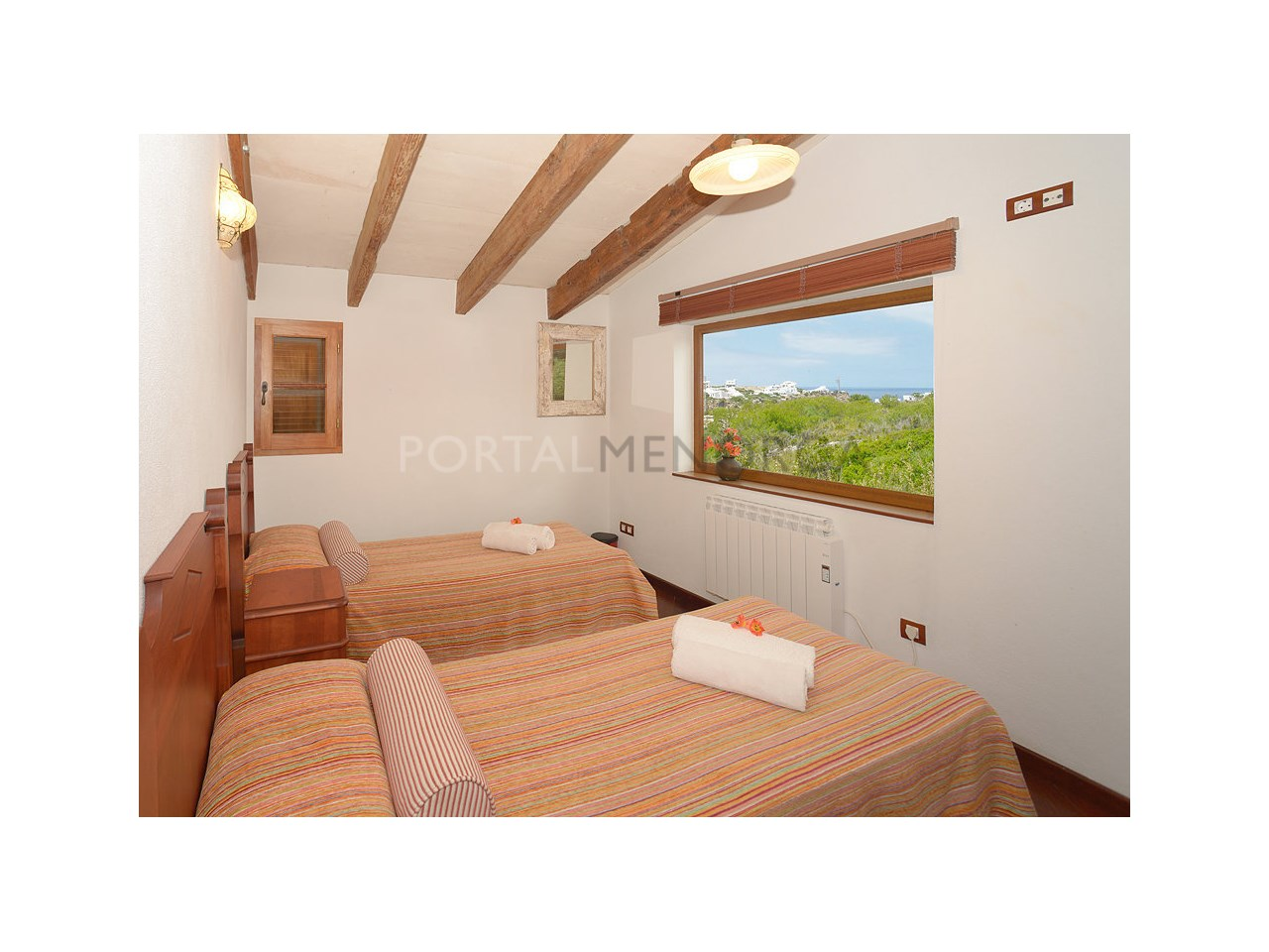 Countryhouse for sale in the Son Morell area-Bedroom with views