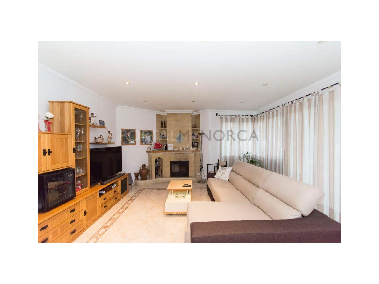 Flat on sale in Ferreries- Living room