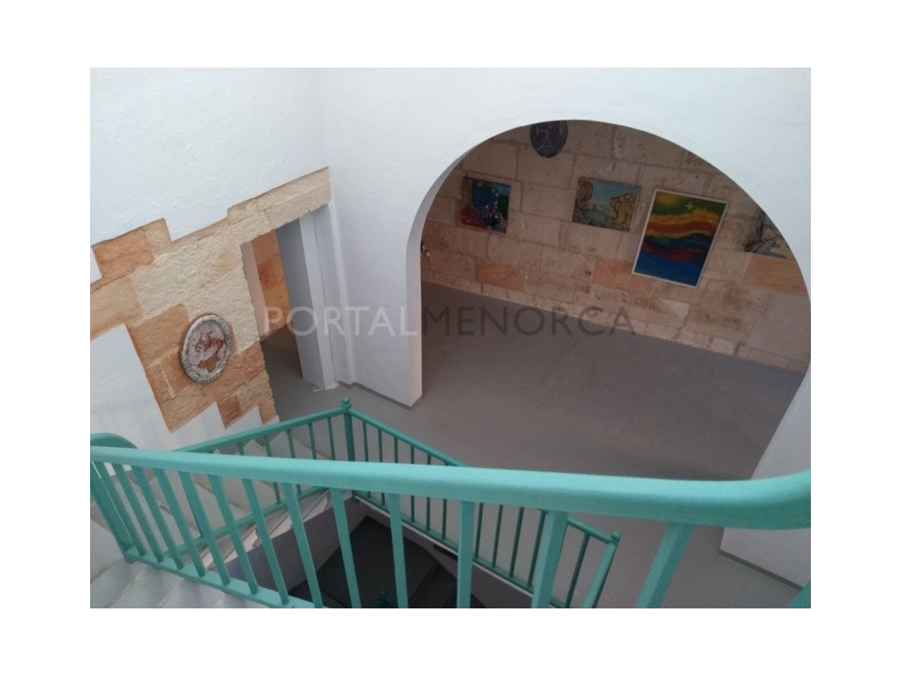 Manor house for sale in Ciutadella-stairs