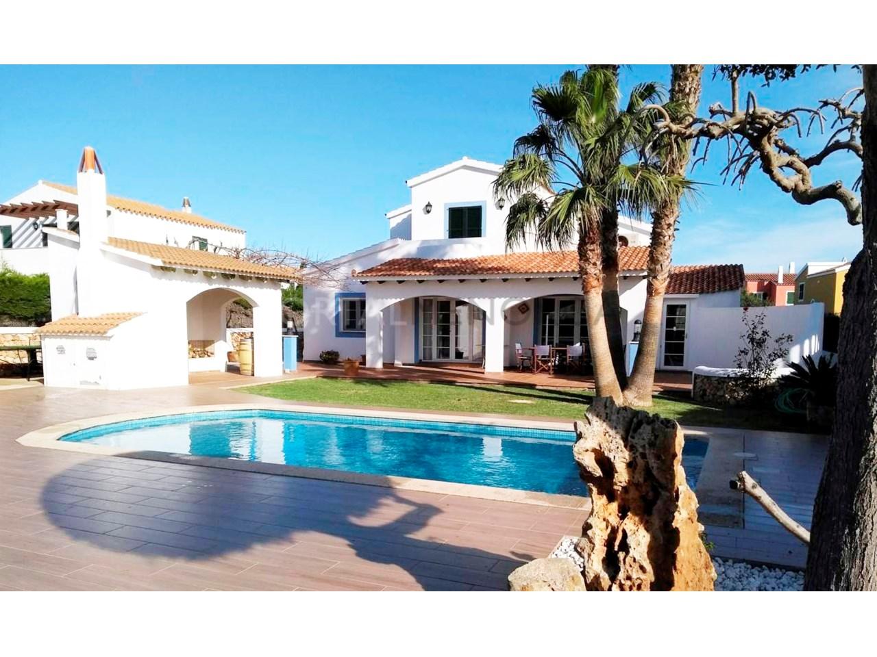 Villa in the residential area of Son Blanc, Ciutadella, Menorca