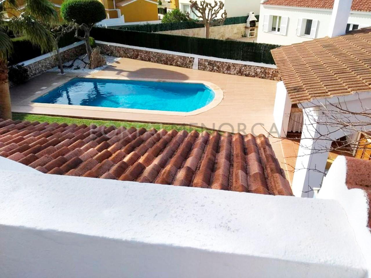 Villa in the residential area of Son Blanc, Ciutadella, Menorca-Terrace Suite