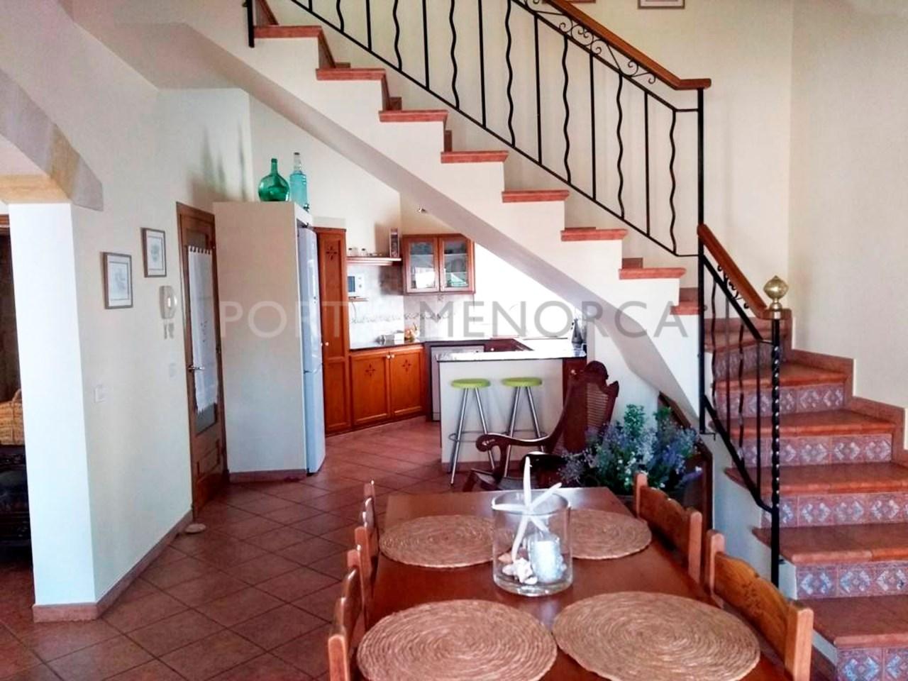 Villa in the residential area of Son Blanc, Ciutadella, Menorca-Dining room