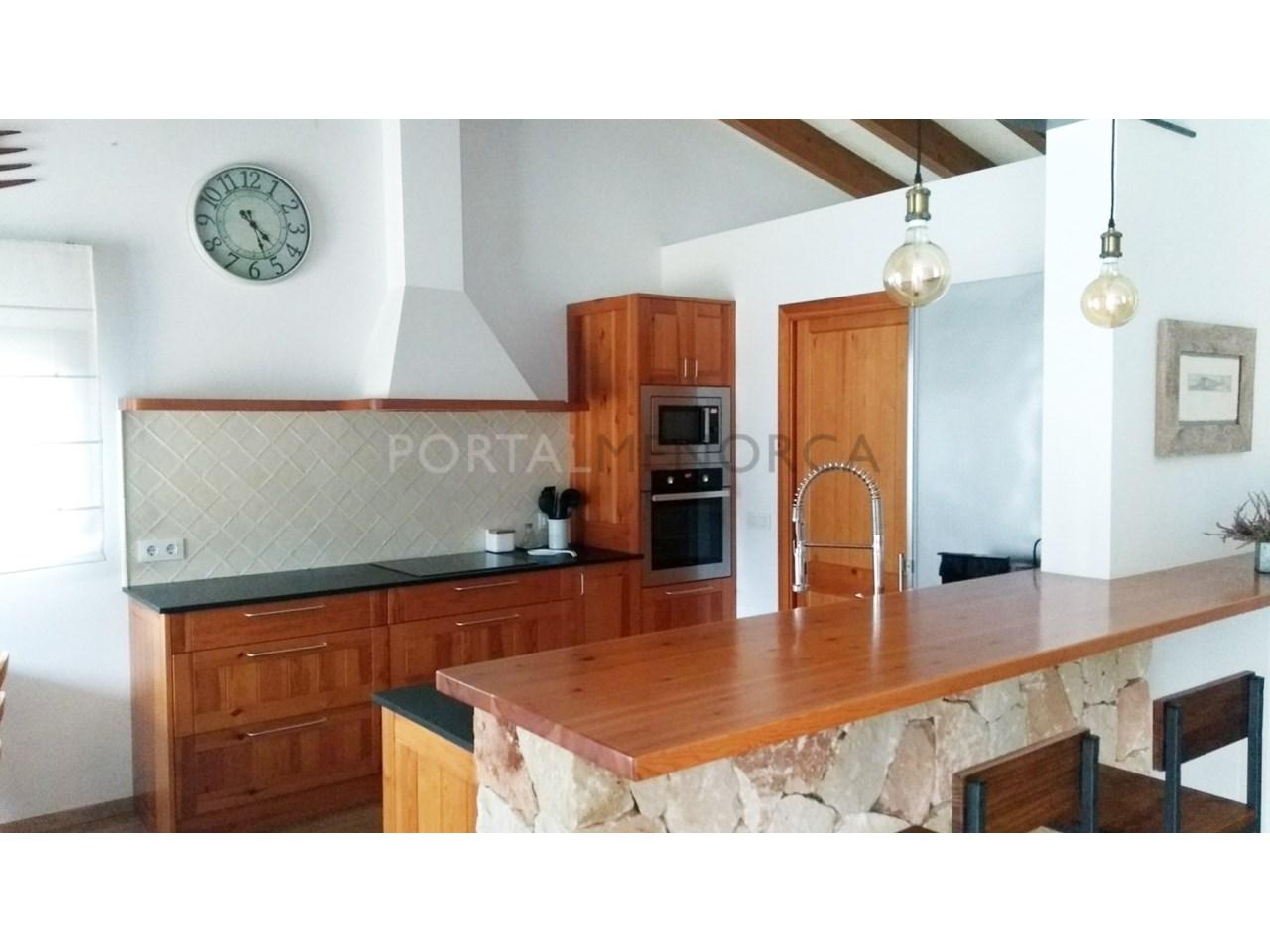 Chalet à vendre à Cala Morell-cuisine