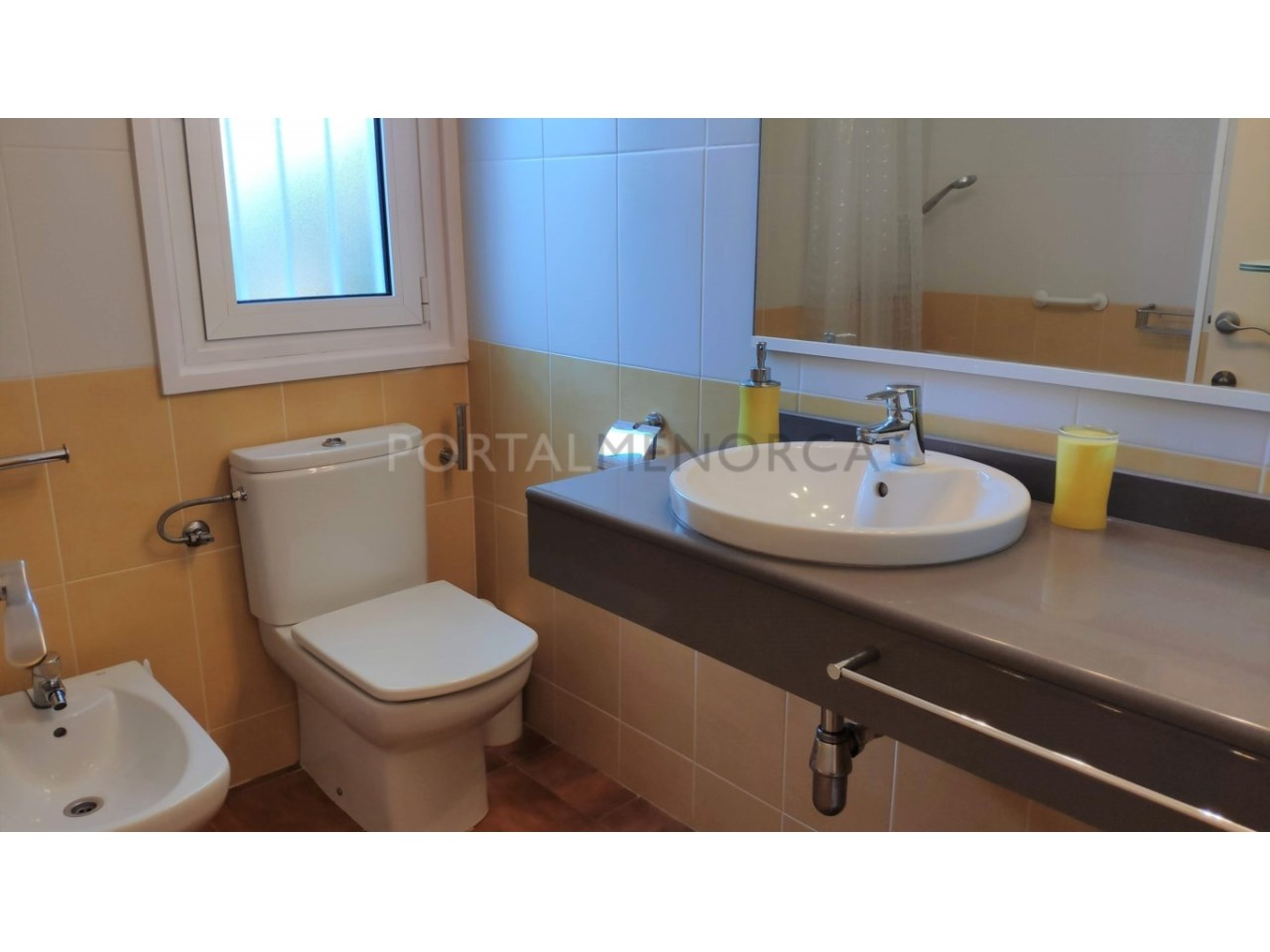 Townhouse for sale in Calan Blanes near the beach- Bathroom