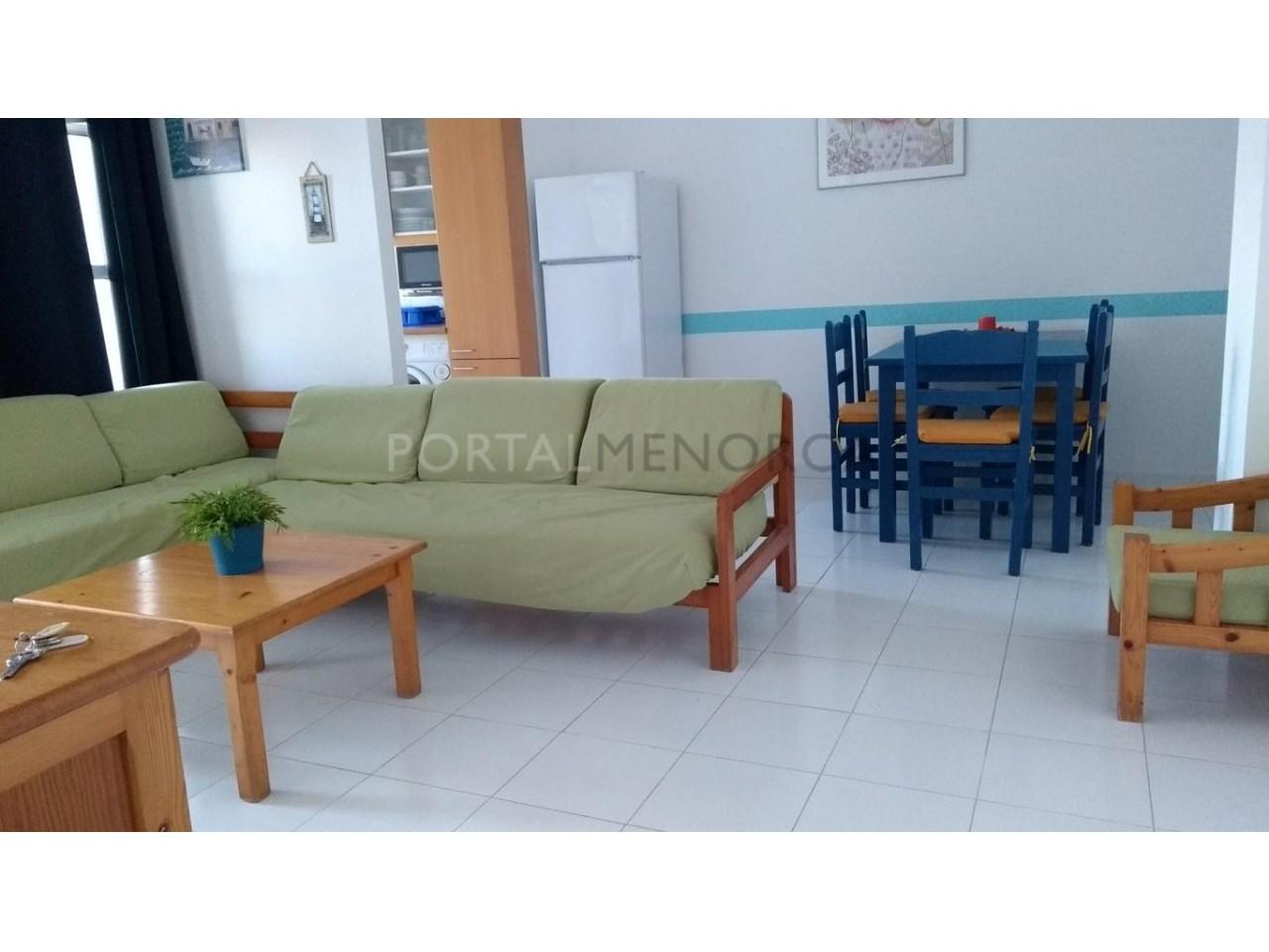 apartamento en venta en Son Xoriguer con piscina comunitaria-Salón