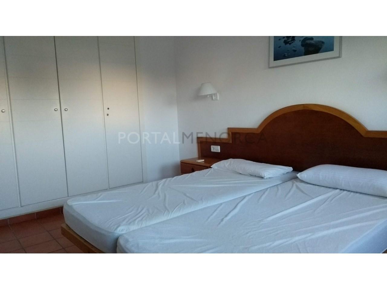apartamento en venta en Son Xoriguer con piscina comunitaria dormitorio