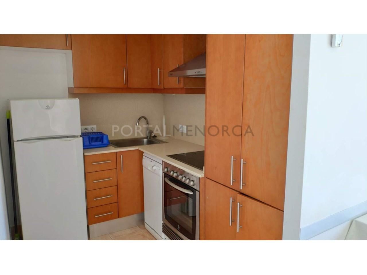 Frist floor apartament for sale in Ciutadella-Kitchen