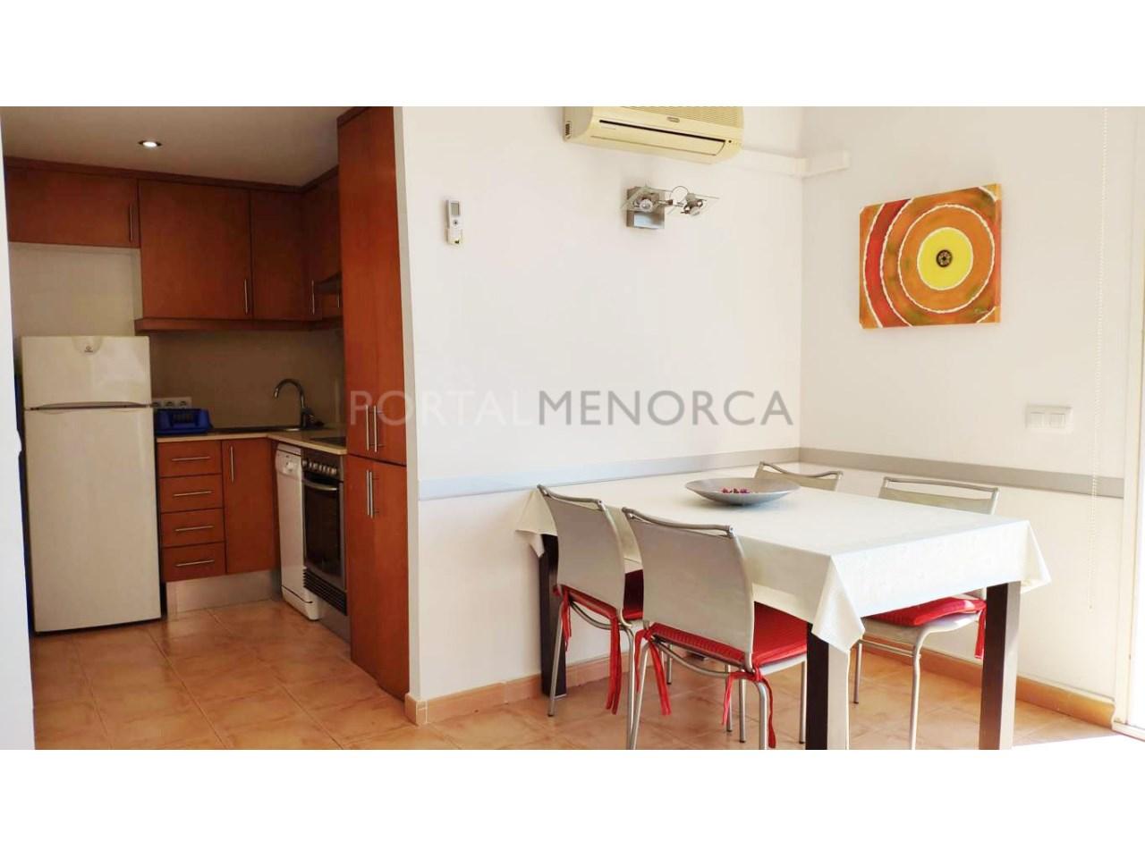 Frist floor apartament for sale in Ciutadella-Dinning room
