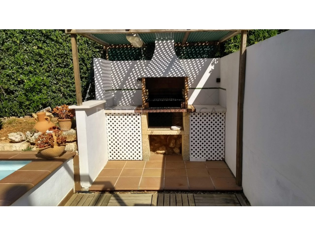 Charming villa with garage in Son Oleo for sale-Barbacue