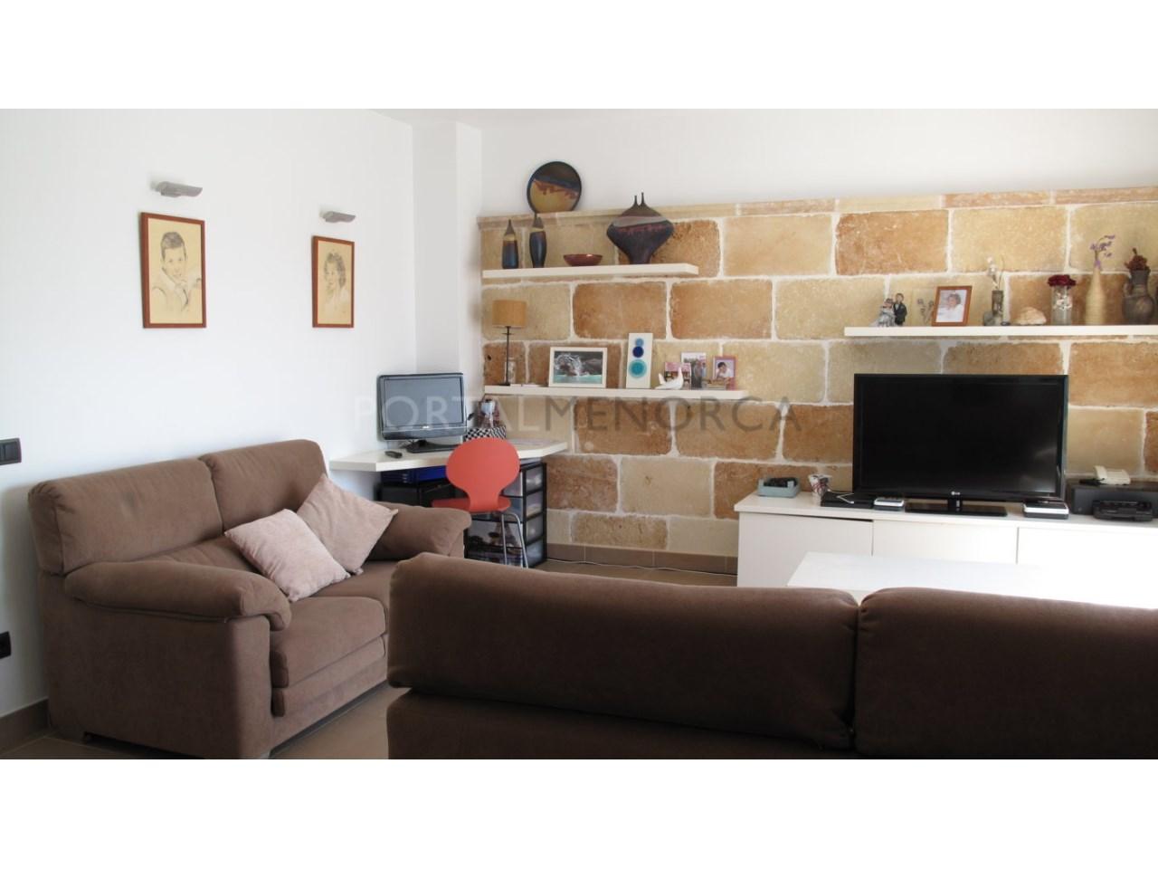 Apartment for sale in Ciutadella de Menorca-Living Room