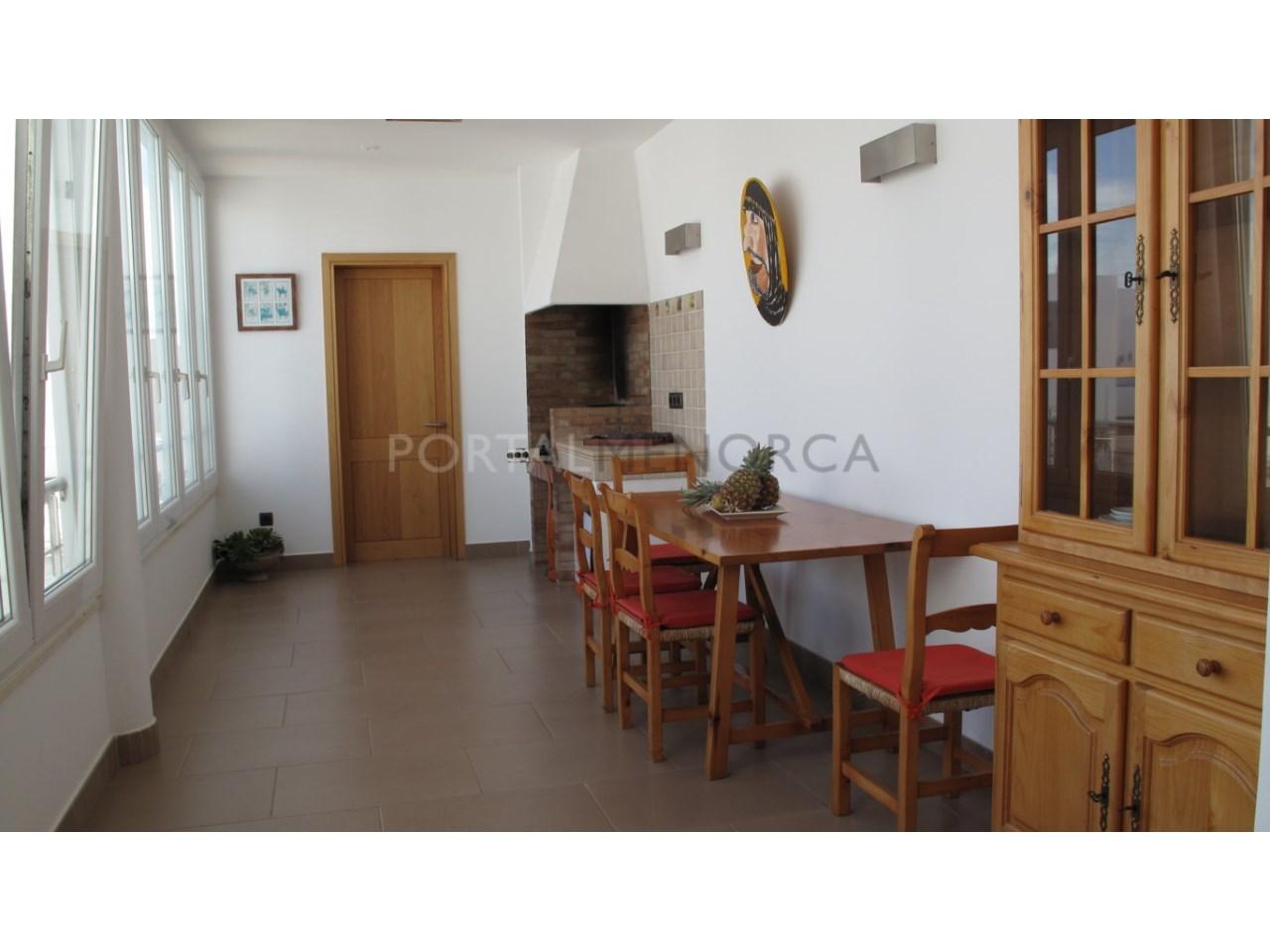 Apartment for sale in Ciutadella de Menorca-Barbecue