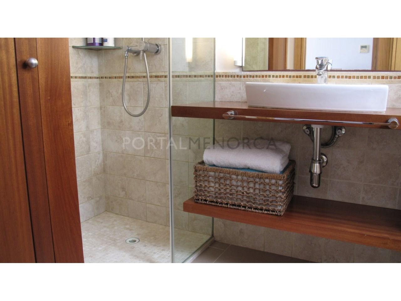 Apartment for sale in Ciutadella de Menorca-Bathroom