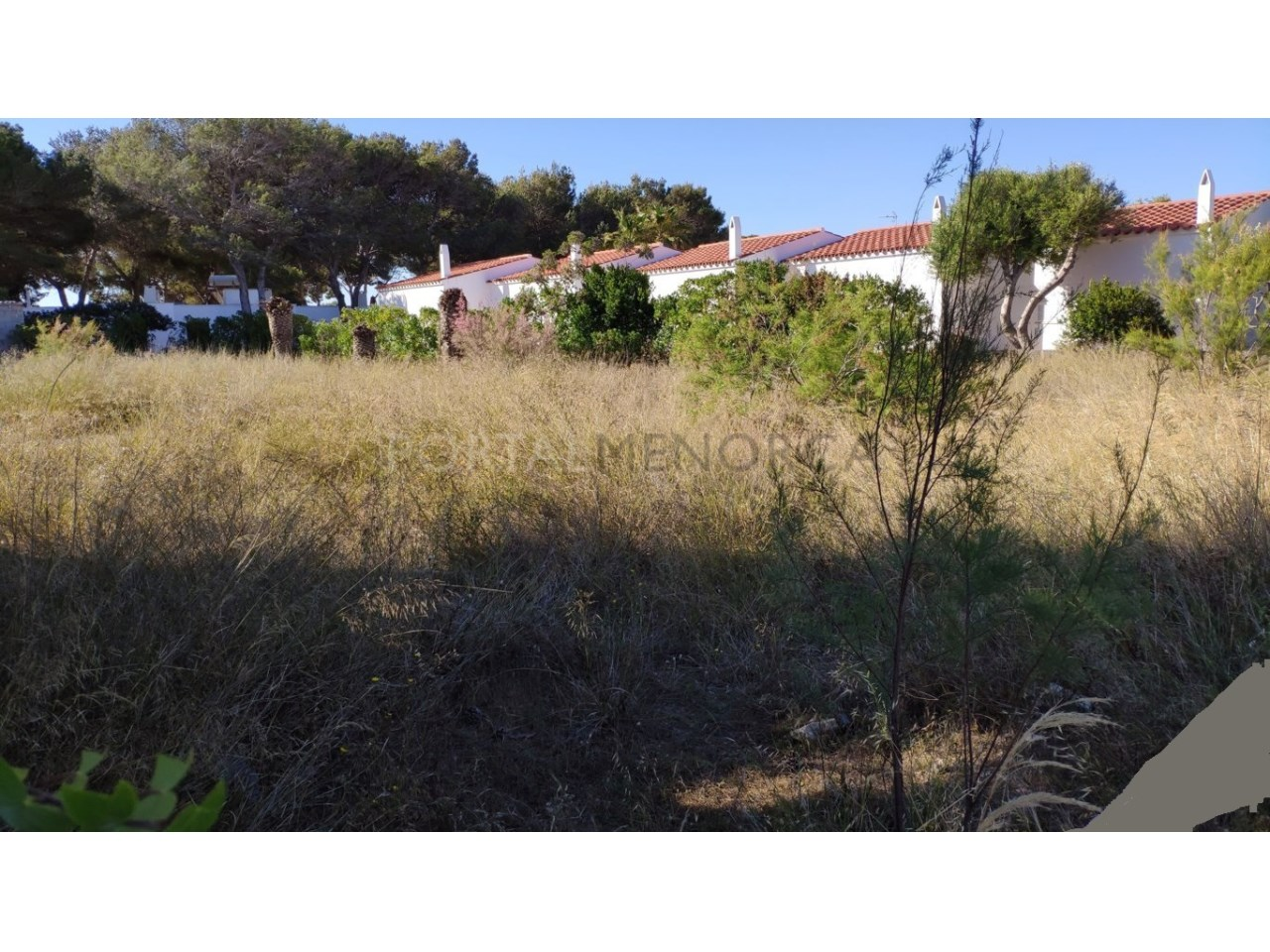 Plot for sale in Calan Blanes, Ciutadella