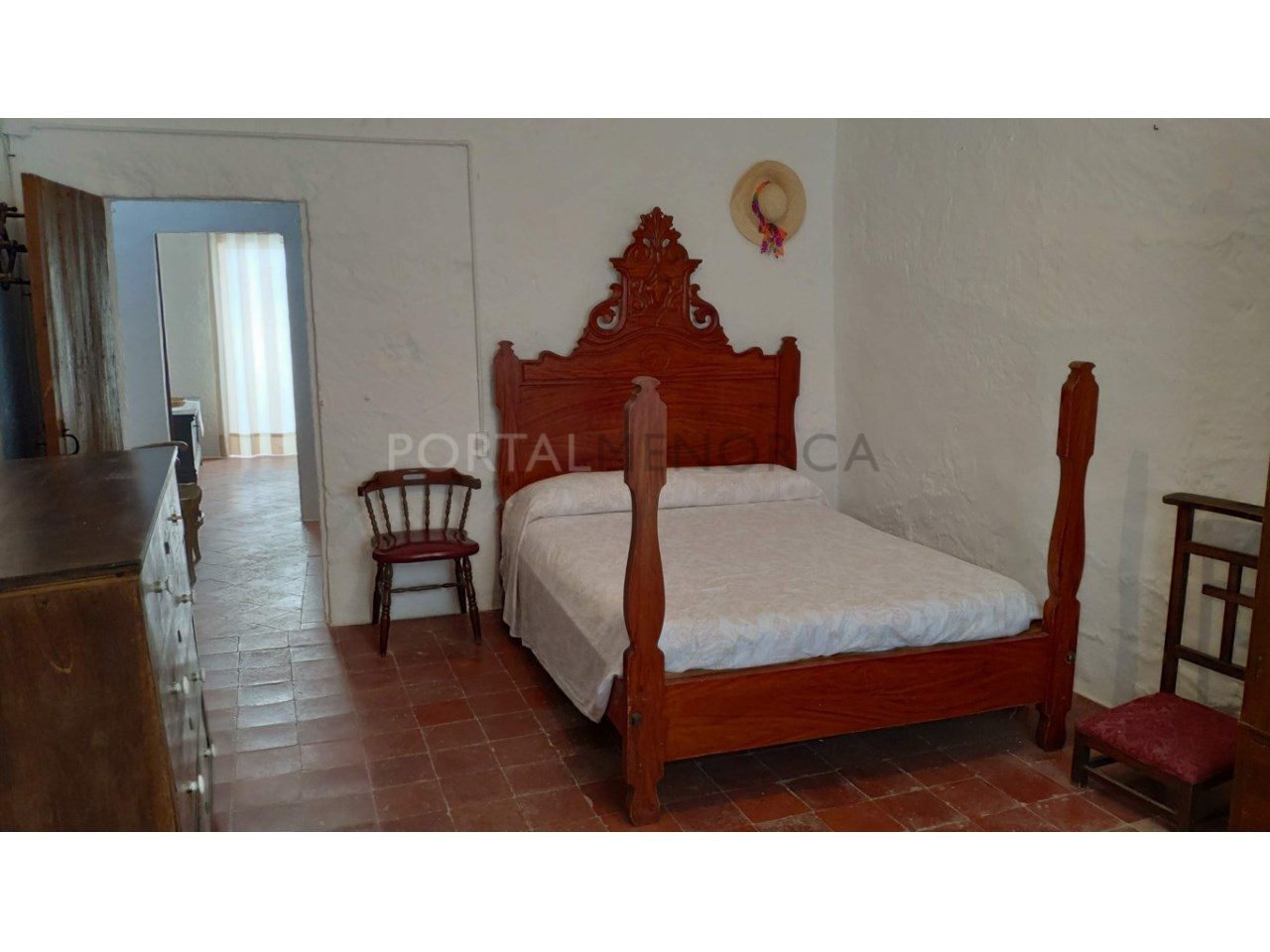 House for sale in the old town of Ciutadella-porch