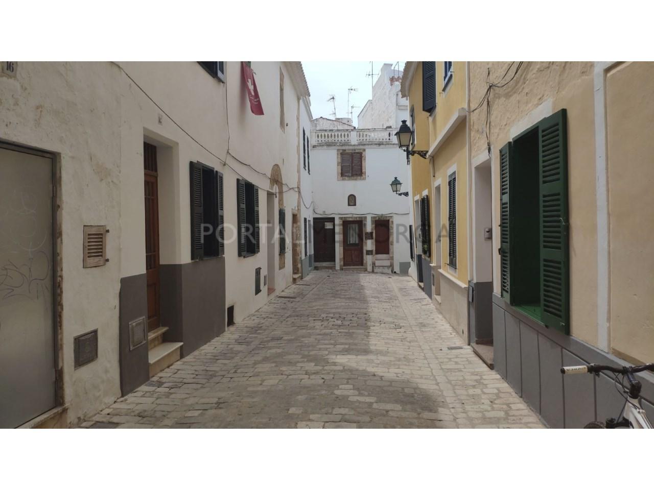 casa reformada en venta en Ciutadella de Menorca Fachada