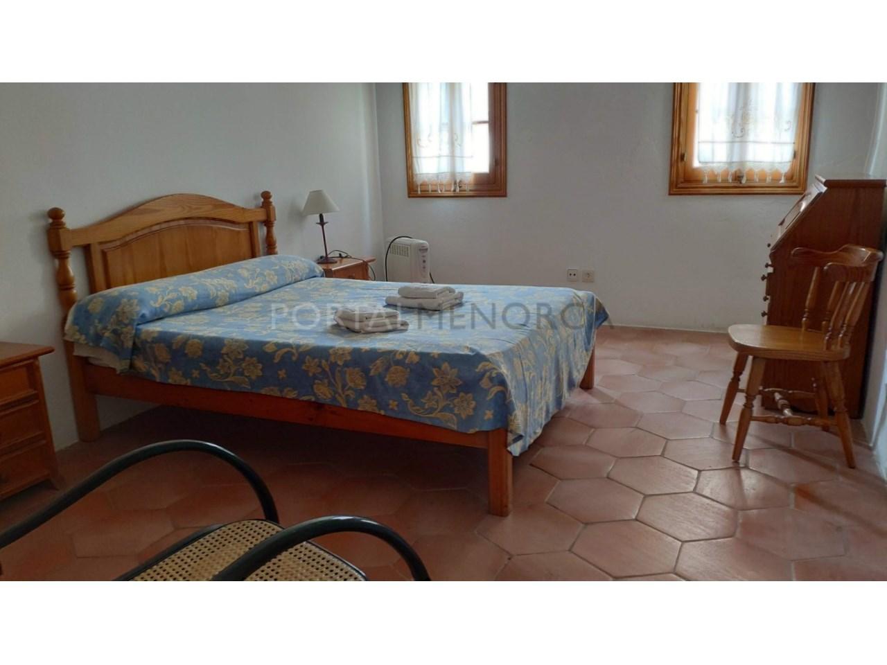 casa reformada en venta en Ciutadella de Menorca habitación