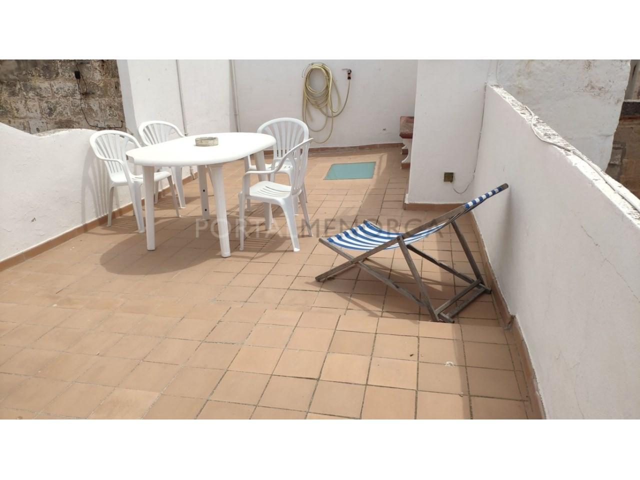 casa reformada en venta en Ciutadella de Menorca azotea