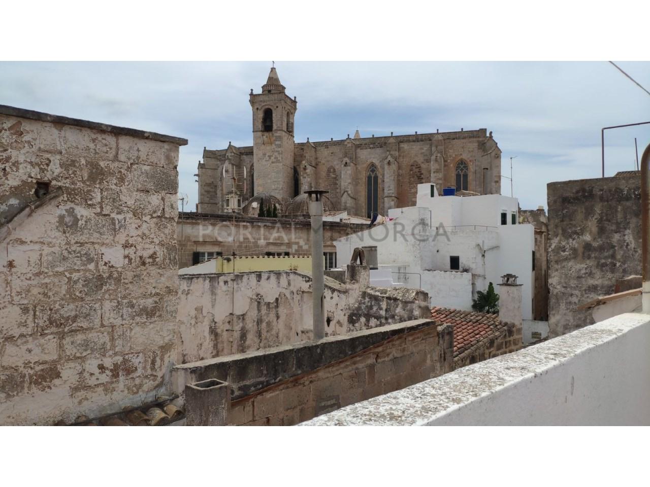 casa reformada en venta en Ciutadella de Menorca Vistas Azotea
