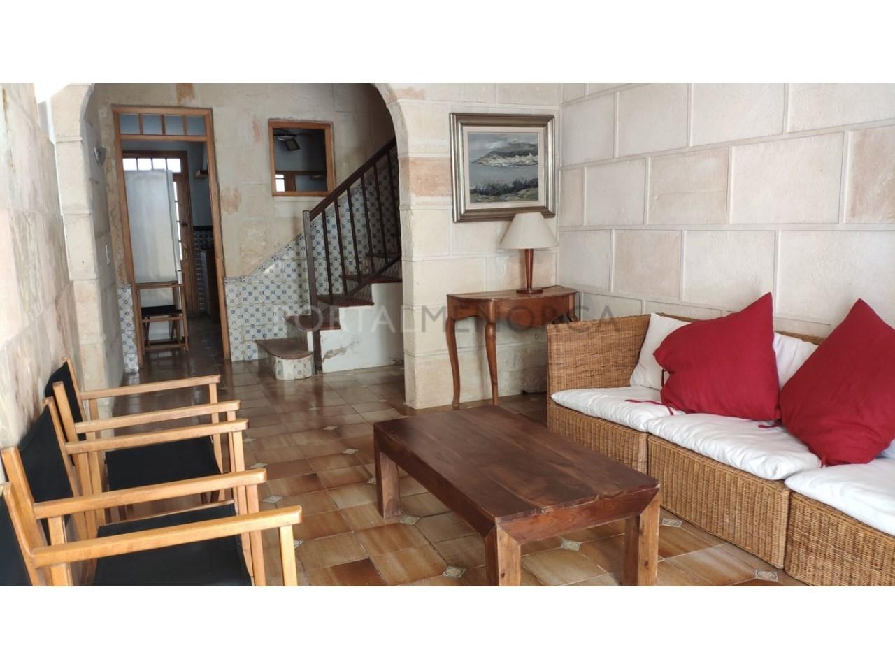 casa reformada en venta en Ciutadella de Menorca Salón
