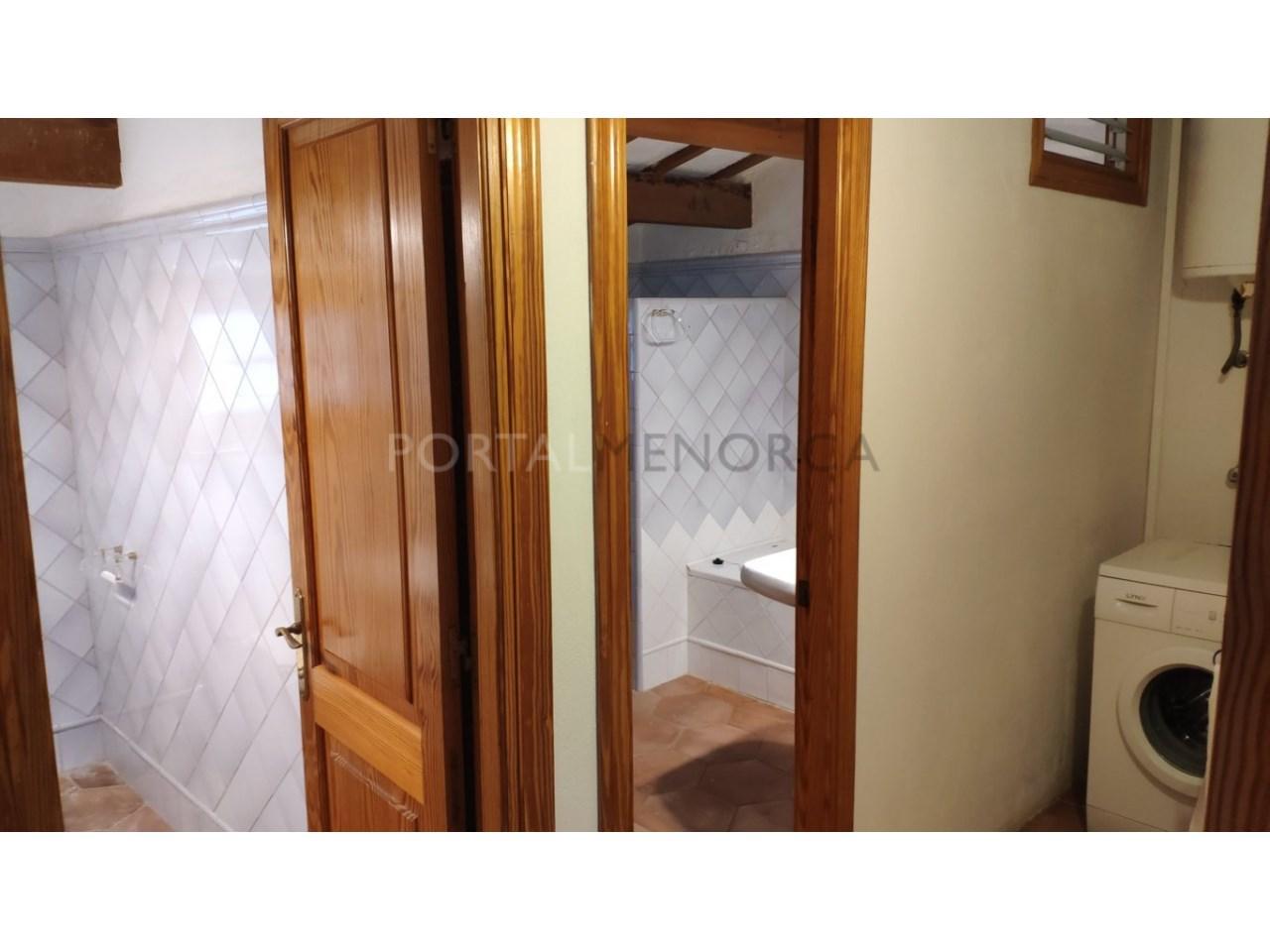 casa reformada en venta en Ciutadella de Menorca baño+lavadero 3