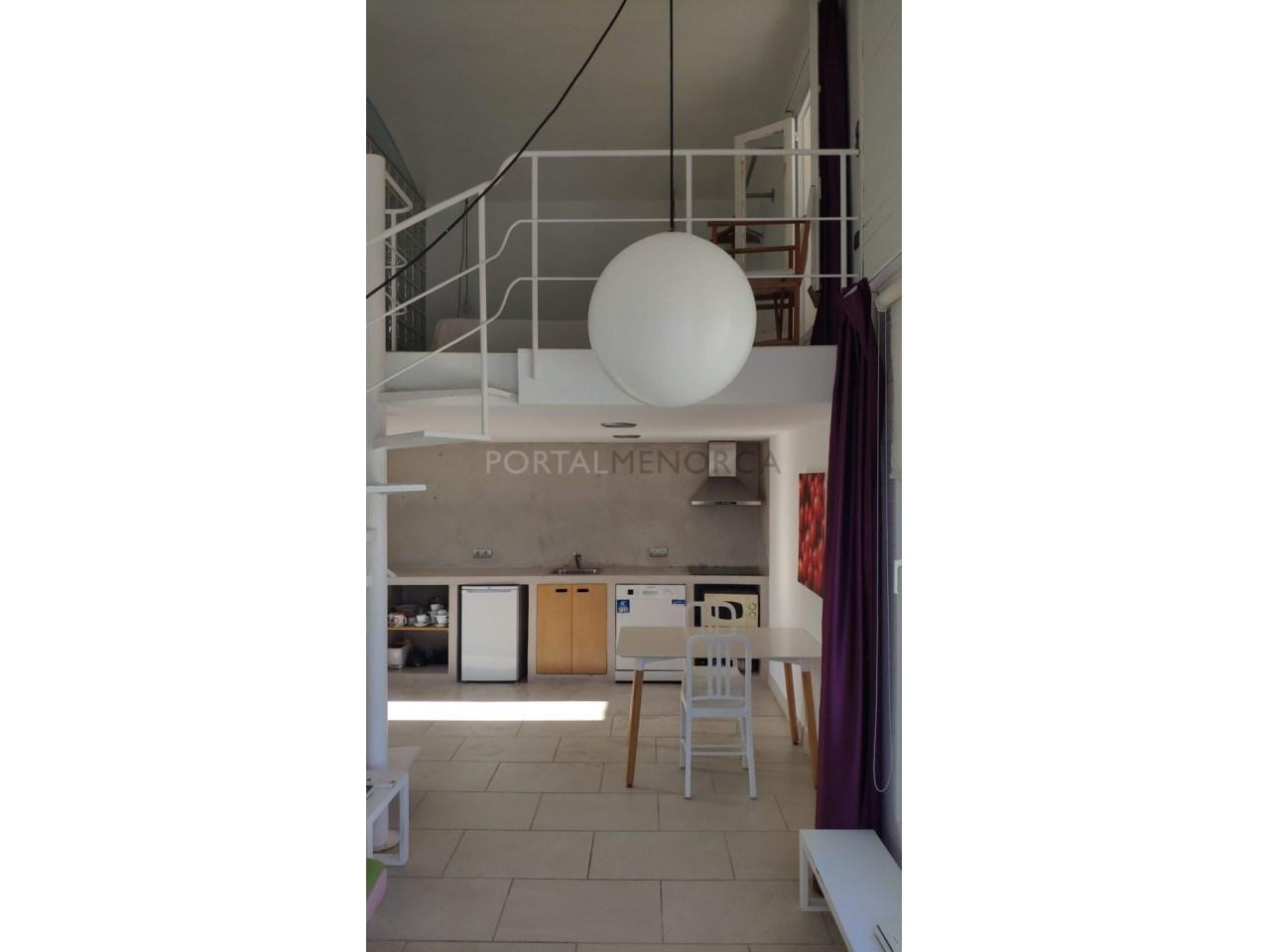 Modern apartment with sea views for sale in Cala Blanca Ciutadella Menorca-Duplex