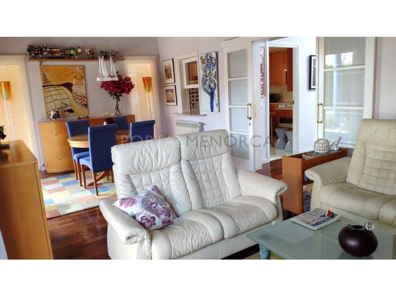 Villa for sale in Son Blanc-living room