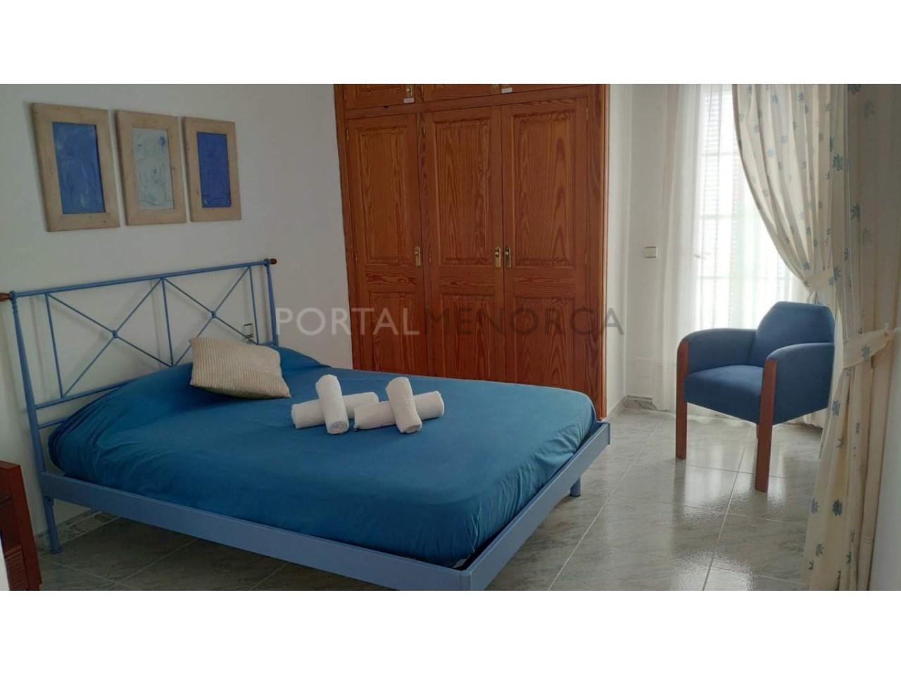 Chalet en venta en Calan Blanes con licencia turística Ciutadella Menorca - primera suite en planta piso