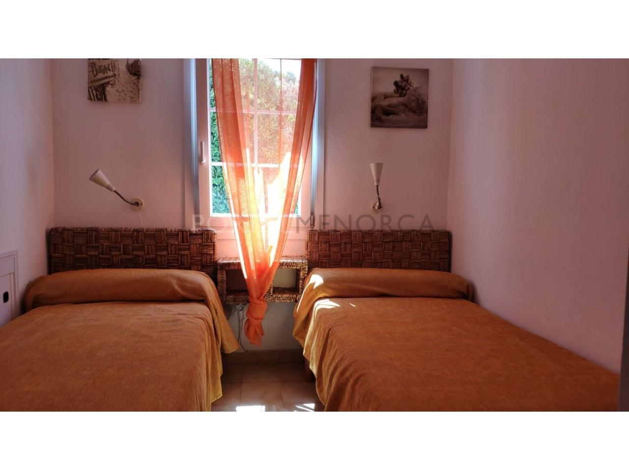 Chalet en venta en Cala Blanca Ciutadella - dormitorio