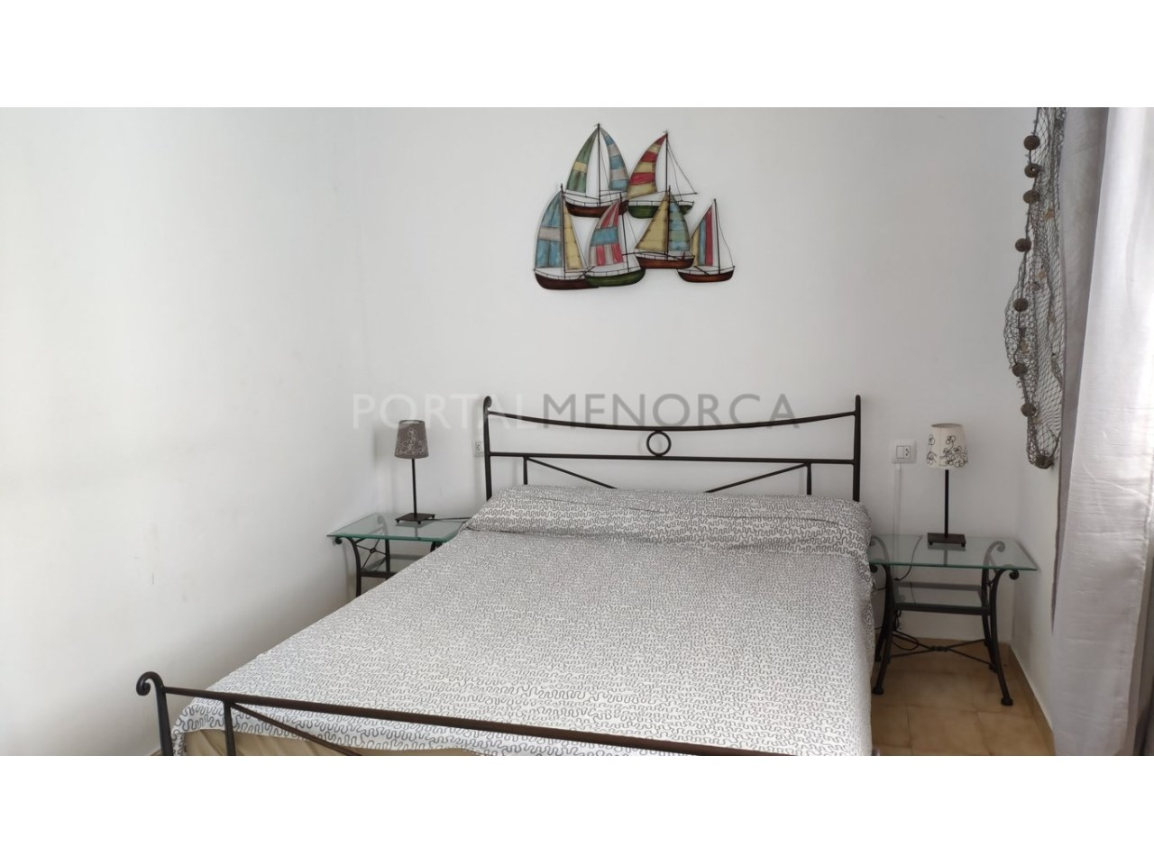 Chalet en venta en Cala Blanca Ciutadella - dormitorio matrimonio