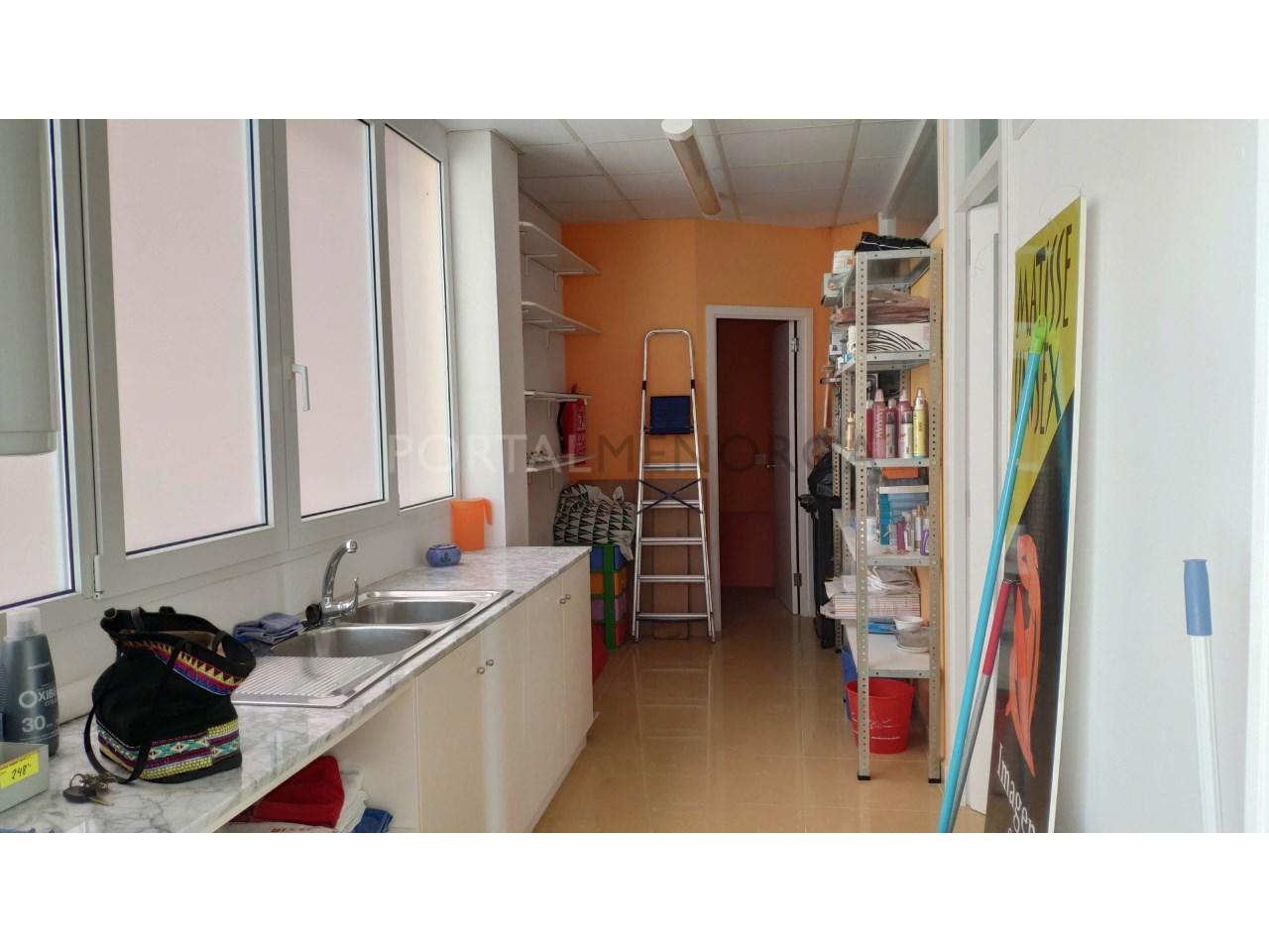 Local for sale in Ciutadella Menorca-storage room