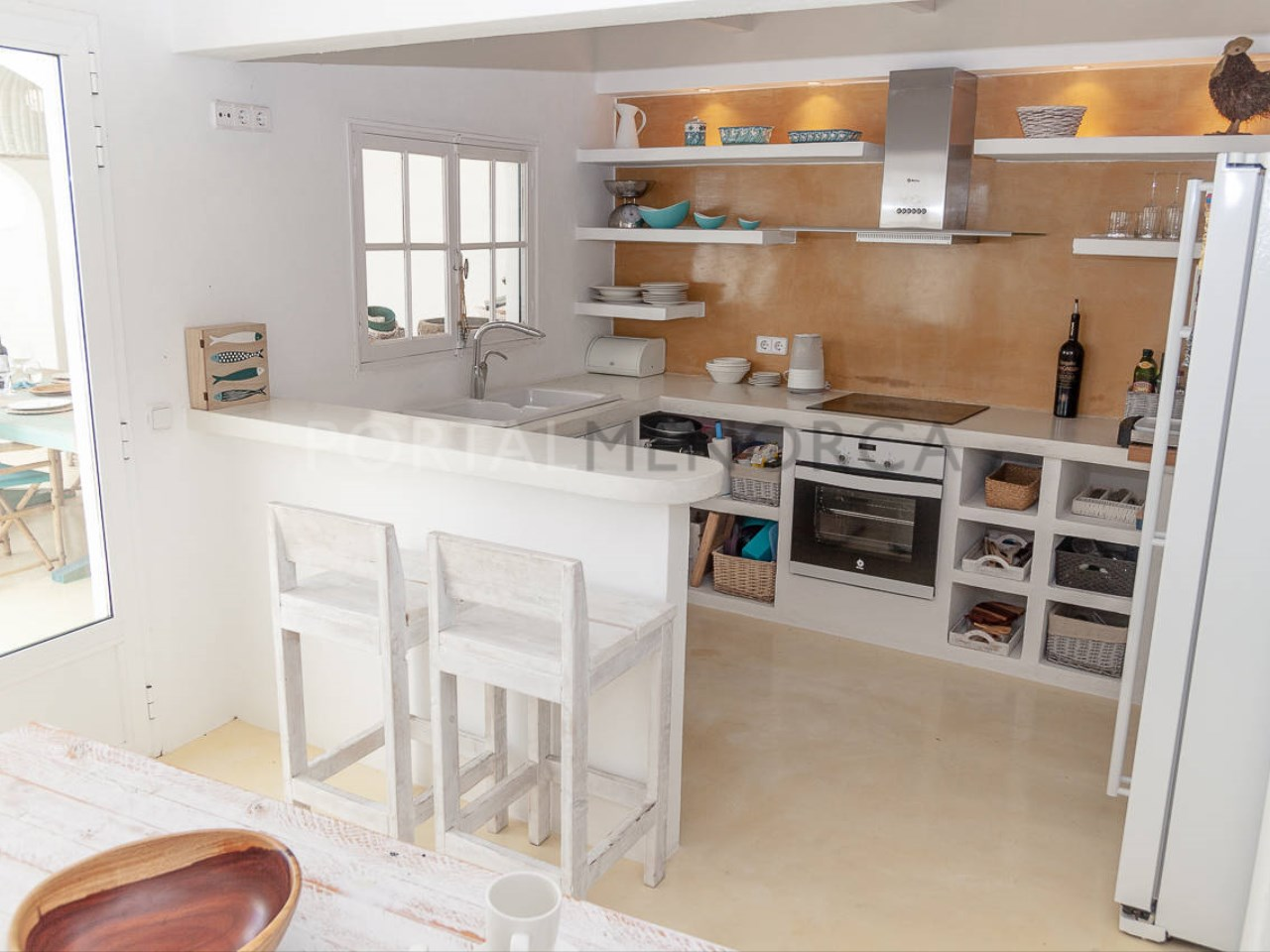 House in the center of Mercadal_kitchen