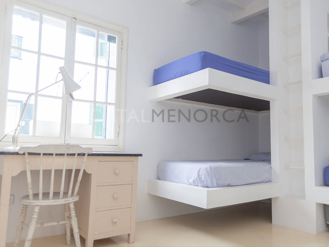 House in the center of Mercadal_bedroom