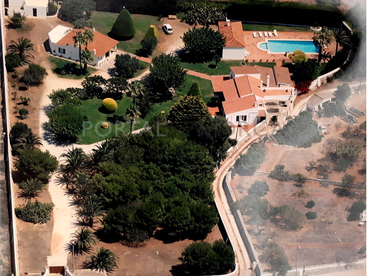 Villa for sale in Ciutadella- aerial view