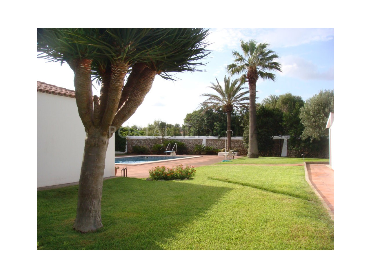Villa for sale in Ciutadella- Garden