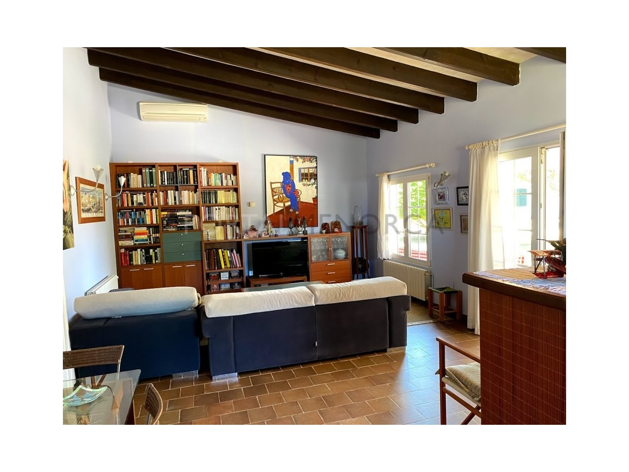 Chalet for sale in Ciutadella_Living room