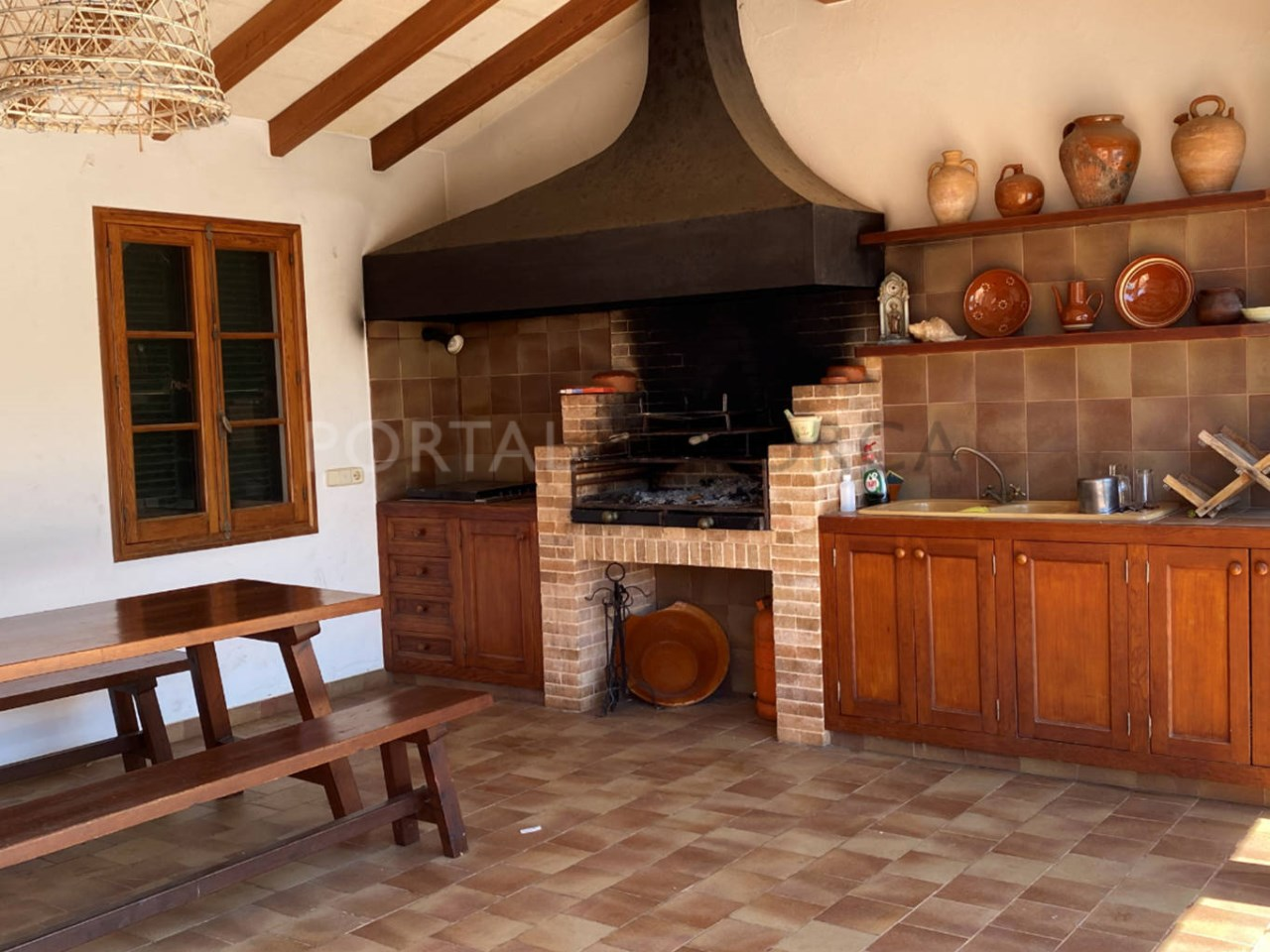 Chalet for sale in Ciutadella_barbecue