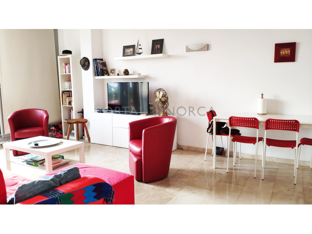 First floor for sale in Ciutadella_Living Room