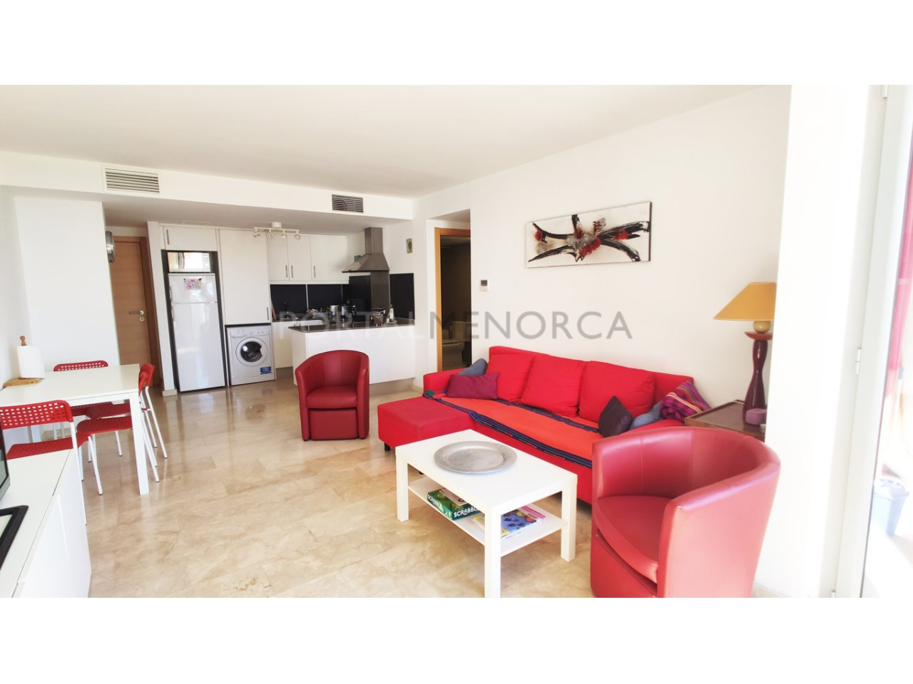 First floor for sale in Ciutadella_Living Room and Kitchen