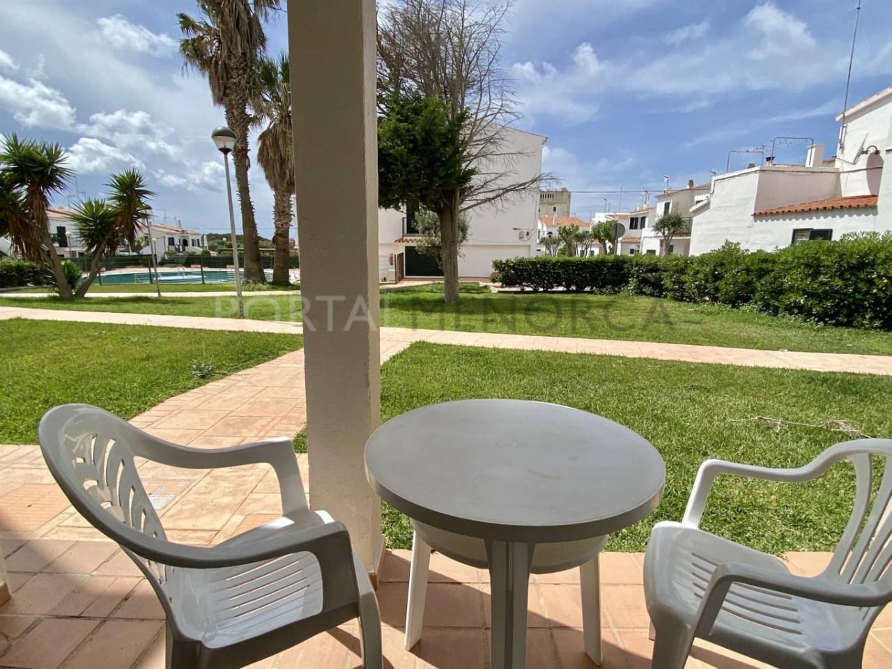 Apartamento en venta en Calan Blanes terraza 1 FM