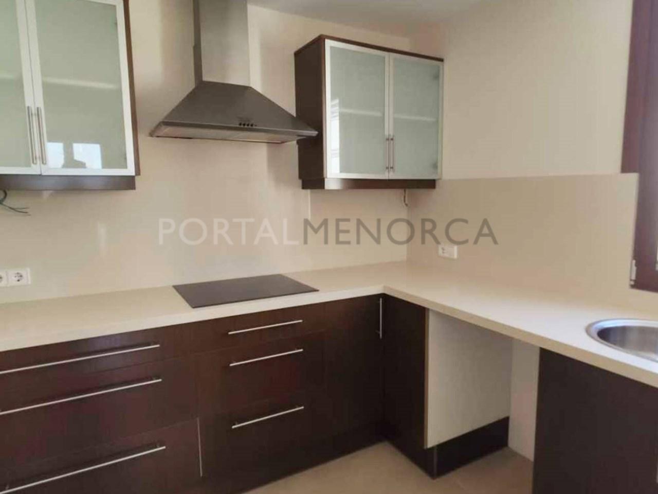 Apartment in the center of Ciutadella_kitchen