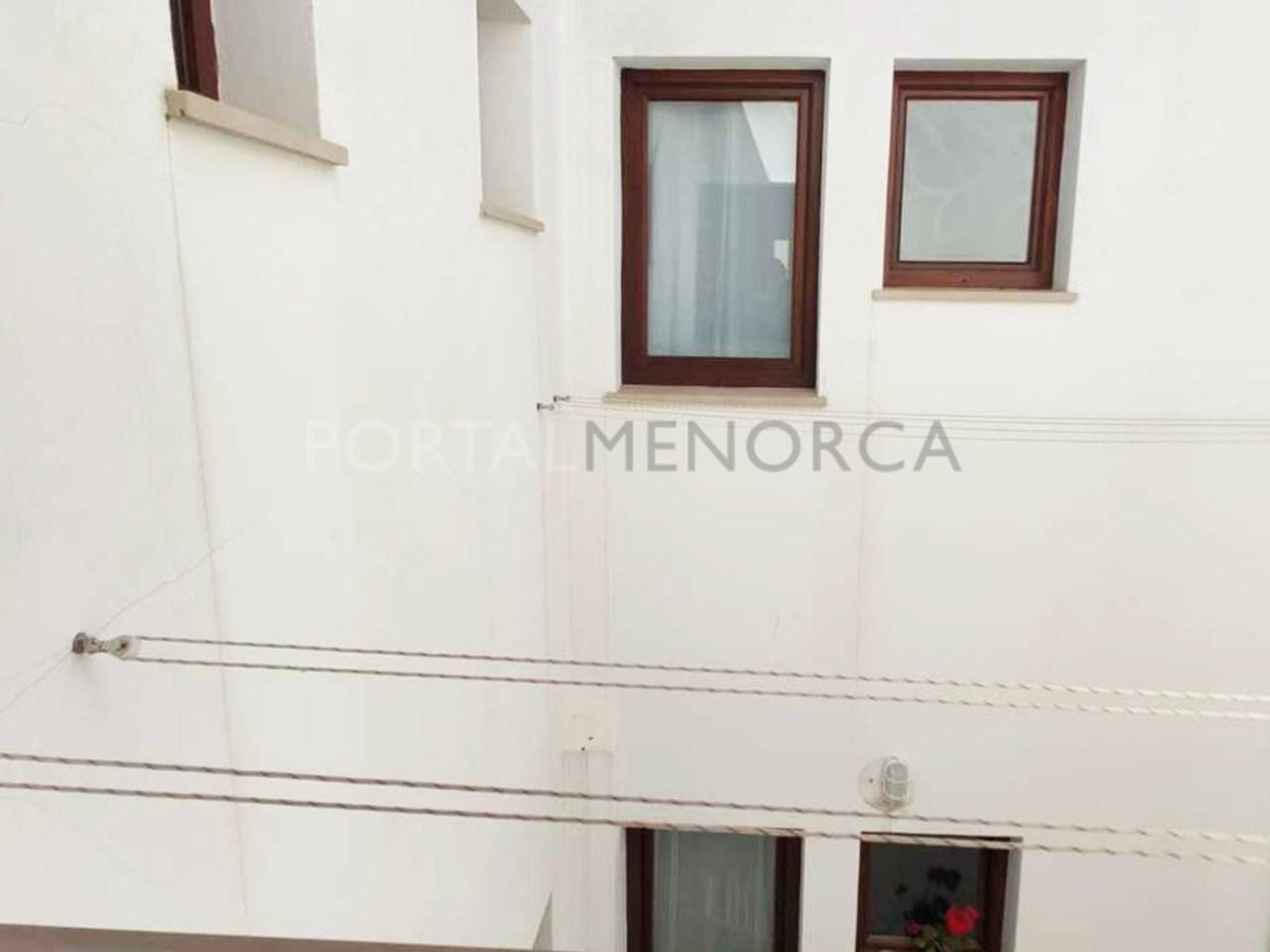 Apartment in the center of Ciutadella_patio