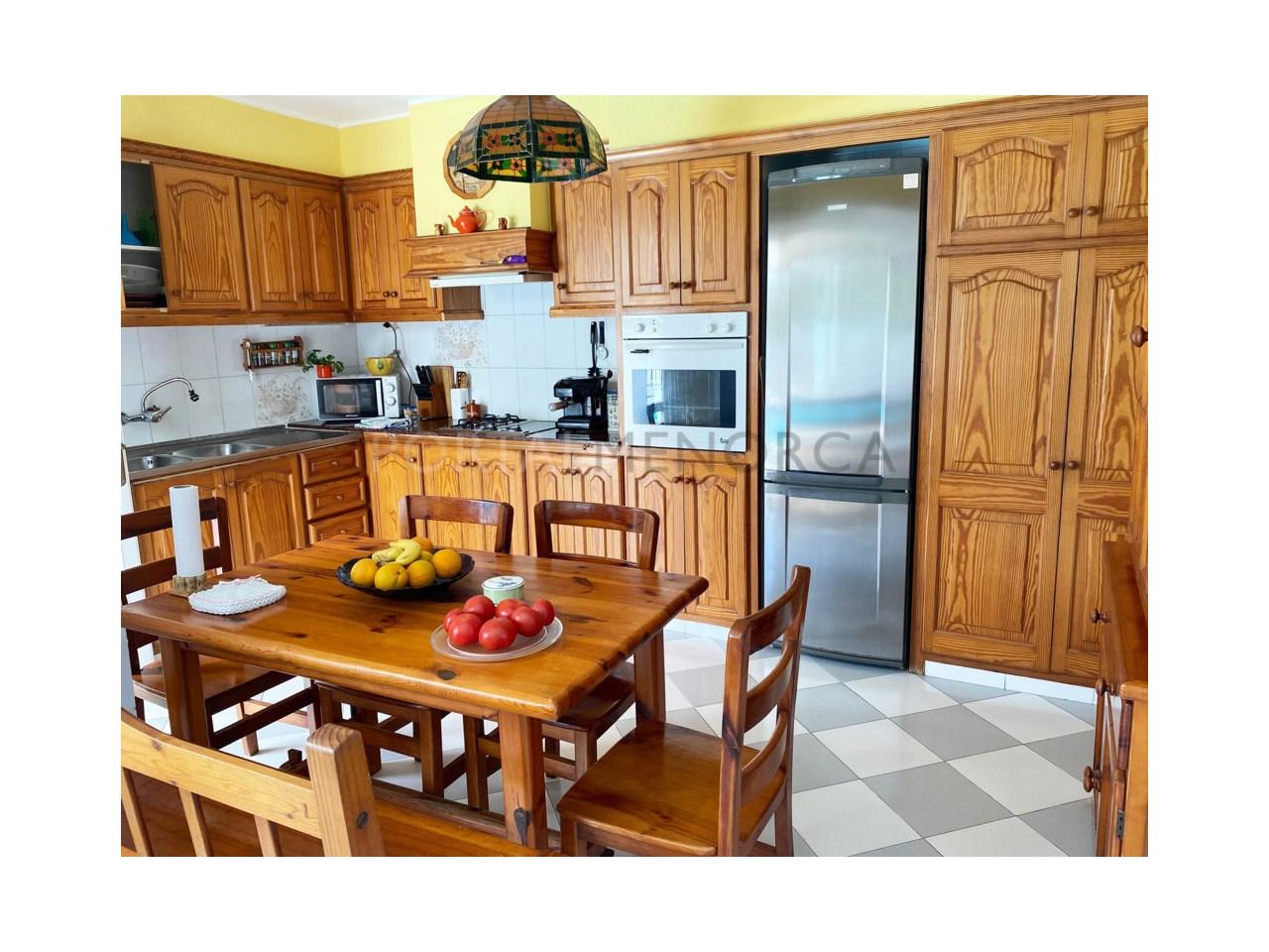 Chalet en venta en Calan Bosch_cocina