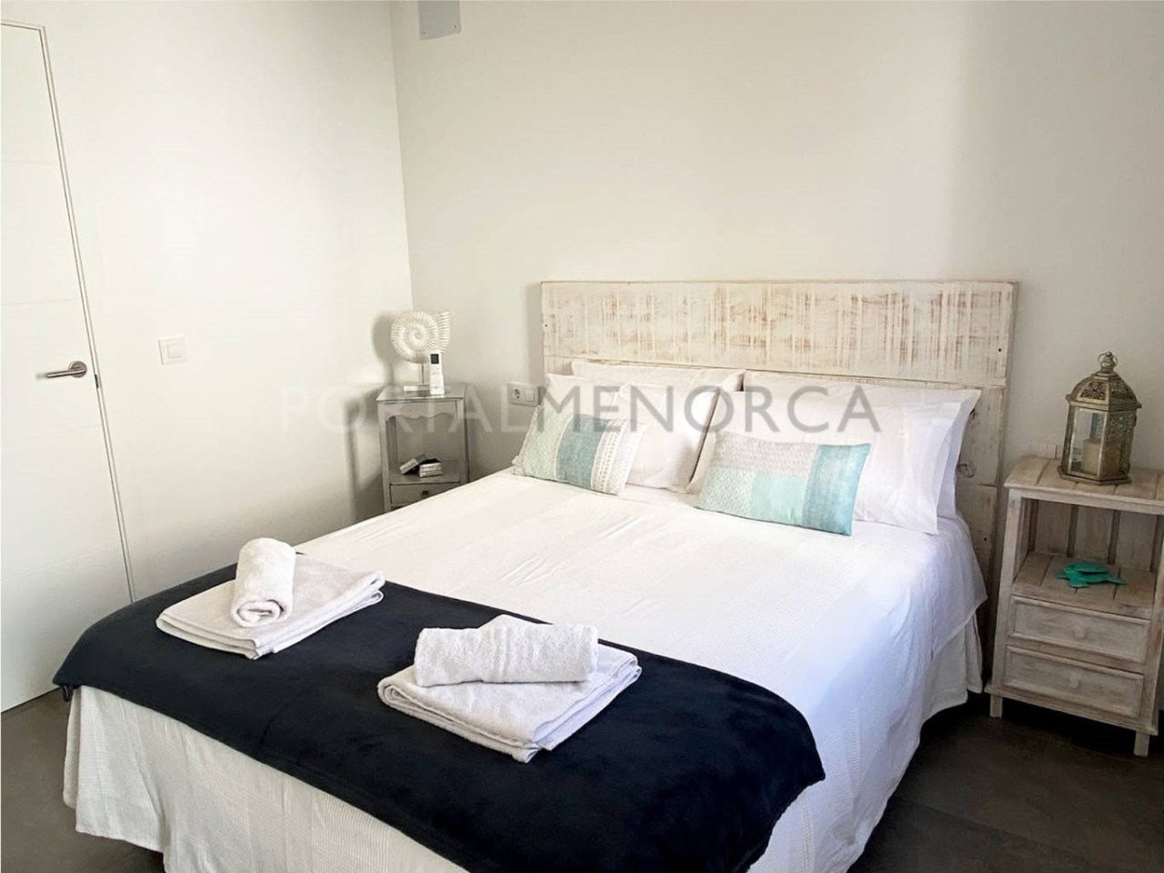 House in the old town Ciutadella_bedroom